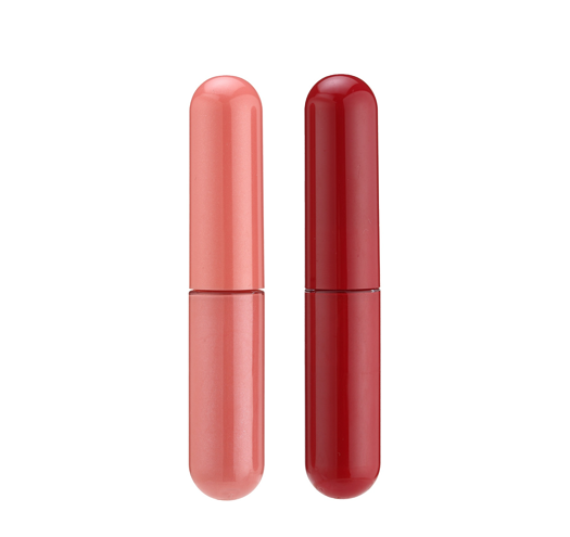 Plastic Cap Dome Capsule Shape Lip Gloss Bottle