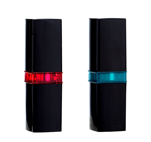Square Lipstick with Concave Clear Ring